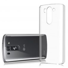 Slim Crystal Clear Hard Case for LG G3s / Mini