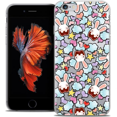 Crystal iPhone 6/6s Plus 5.5 Case Lapins Crétins™ Love Pattern