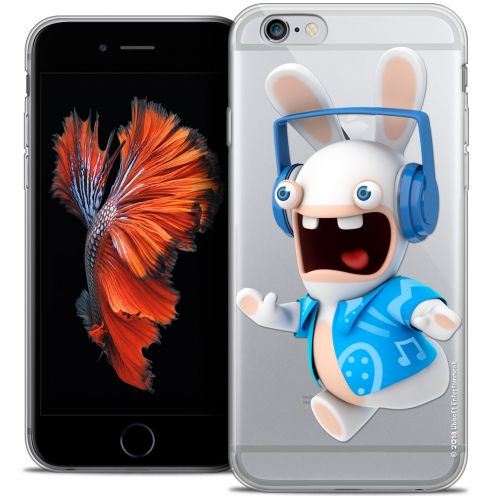 Crystal iPhone 6/6s Plus 5.5 Case Lapins Crétins™ Techno Lapin