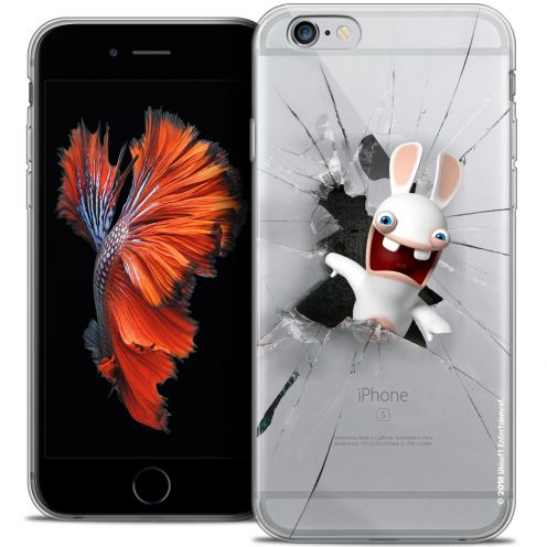 Crystal iPhone 6/6s Plus 5.5 Case Lapins Crétins™ Breaking Glass