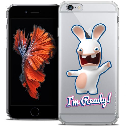 Crystal iPhone 6/6s Plus 5.5 Case Lapins Crétins™ I'm Ready !