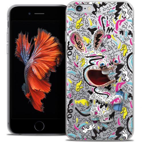 Crystal iPhone 6/6s Plus 5.5 Case Lapins Crétins™ Tag