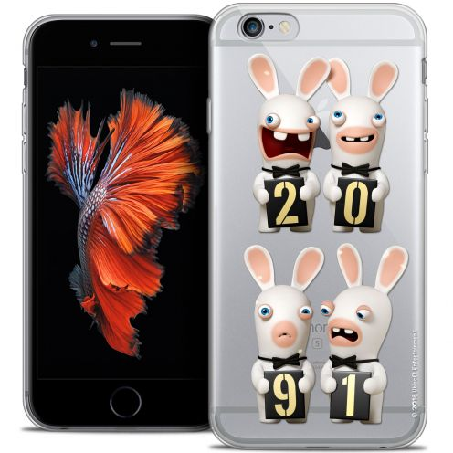 Crystal iPhone 6/6s Plus 5.5 Case Lapins Crétins™ New Year