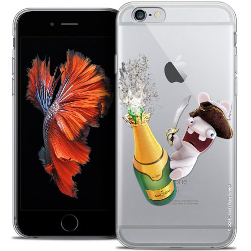 Crystal iPhone 6/6s Plus 5.5 Case Lapins Crétins™ Champagne !