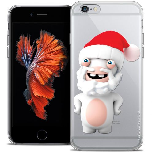 Crystal iPhone 6/6s Plus 5.5 Case Lapins Crétins™ Lapin Noël