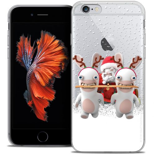 Crystal iPhone 6/6s Plus 5.5 Case Lapins Crétins™ Lapin Traineau