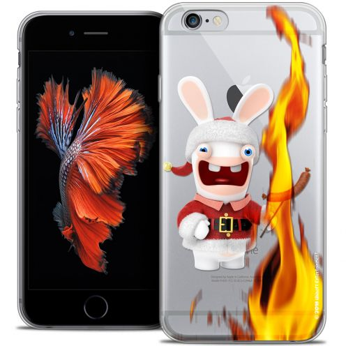 Crystal iPhone 6/6s Plus 5.5 Case Lapins Crétins™ BBQ de Noël