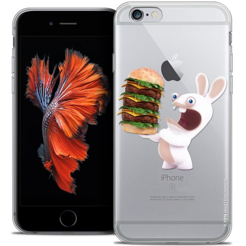 Crystal iPhone 6/6s Plus 5.5 Case Lapins Crétins™ Burger Crétin