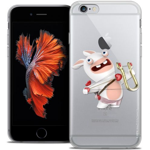 Crystal iPhone 6/6s Plus 5.5 Case Lapins Crétins™ Cupidon Crétin