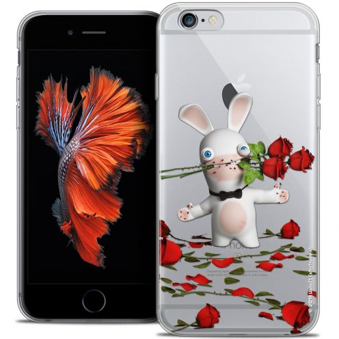 Crystal iPhone 6/6s Plus 5.5 Case Lapins Crétins™ Gentleman Crétin