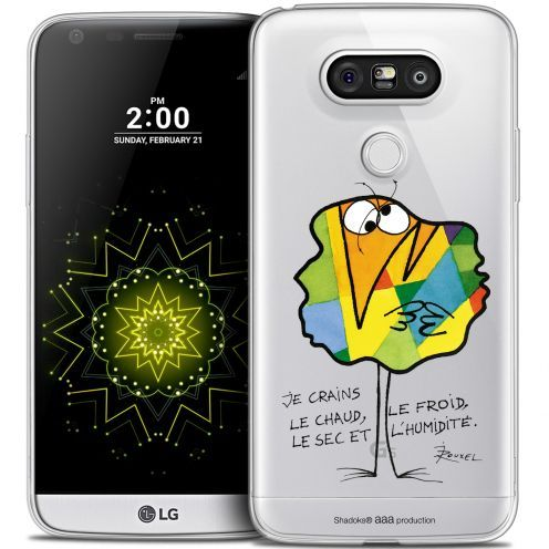 Extra Slim Crystal LG G5 Case Les Shadoks® Chaud ou Froid
