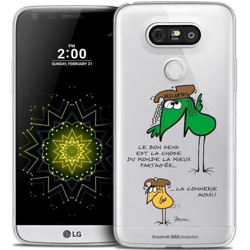 Extra Slim Crystal LG G5 Case Les Shadoks® Le Partage