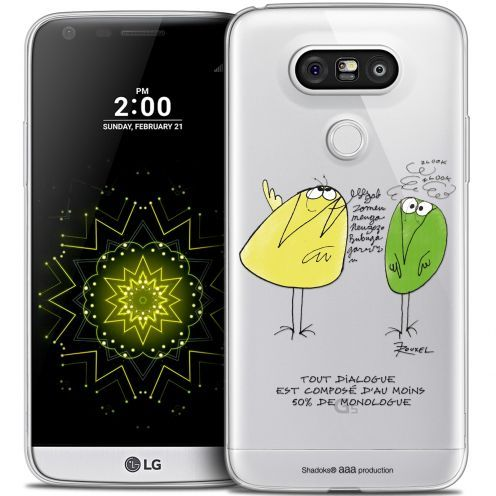 Extra Slim Crystal LG G5 Case Les Shadoks® Le Dialogue
