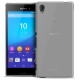 Frozen Ice Extra Slim Clear soft case for Sony Xperia M4 Aqua