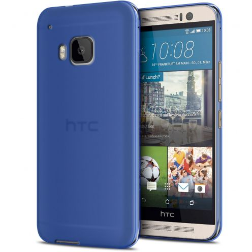 Frozen Ice Extra Slim Blue soft case for HTC One M9
