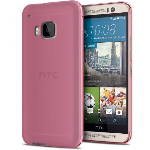 Frozen Ice Extra Slim Pink soft case for HTC One M9