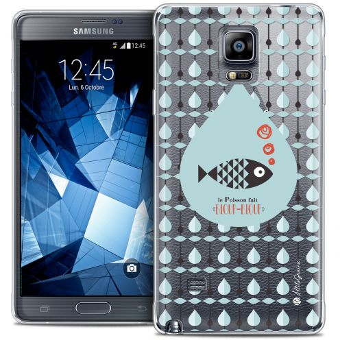 Extra Slim Crystal Galaxy Note 4 Case Petits Grains® Le Poisson