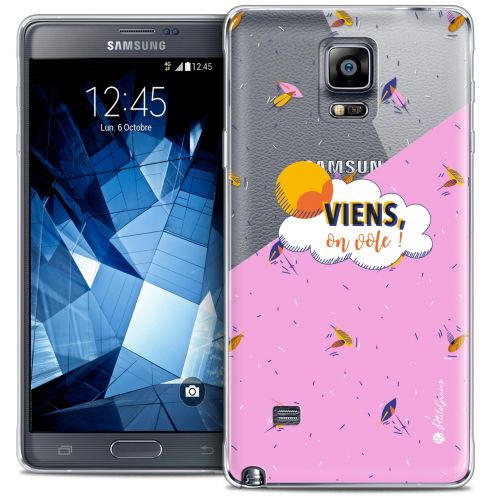 Extra Slim Crystal Galaxy Note 4 Case Petits Grains® VIENS, On Vole !