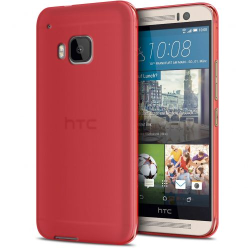 Frozen Ice Extra Slim Red soft case for HTC One M9
