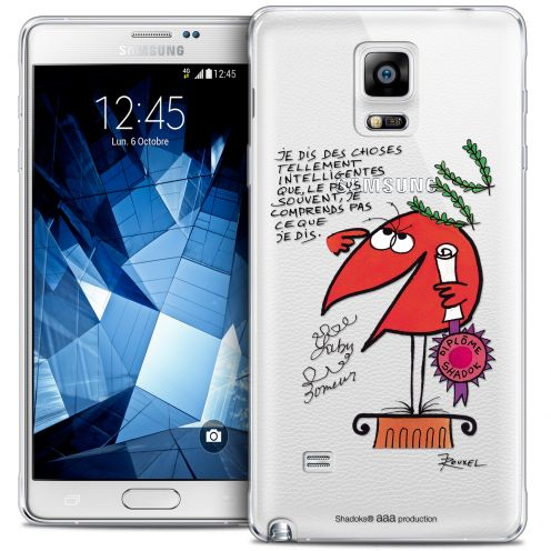 Extra Slim Crystal Galaxy Note 4 Case Les Shadoks® Intelligent