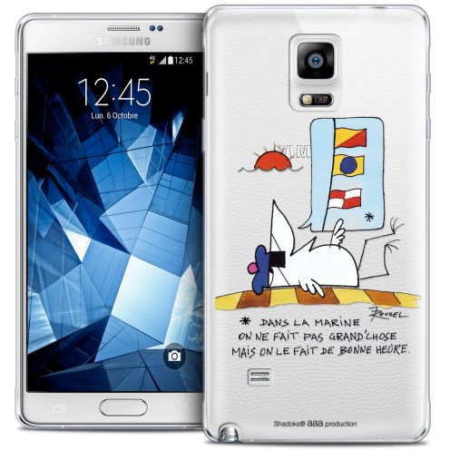 Extra Slim Crystal Galaxy Note 4 Case Les Shadoks® La Marine
