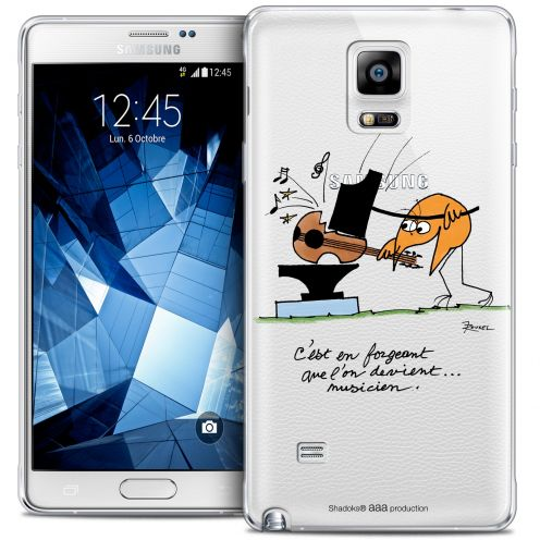 Extra Slim Crystal Galaxy Note 4 Case Les Shadoks® Musicien