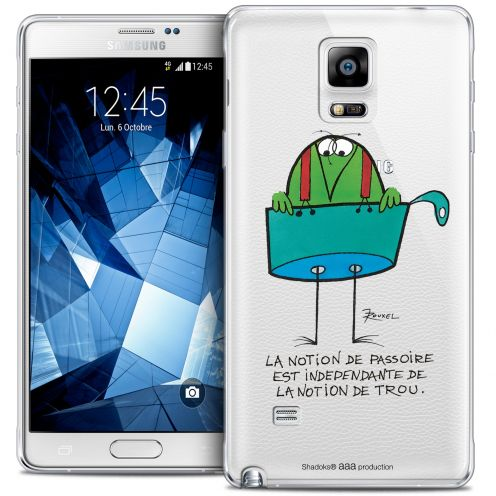 Extra Slim Crystal Galaxy Note 4 Case Les Shadoks® La Passoire