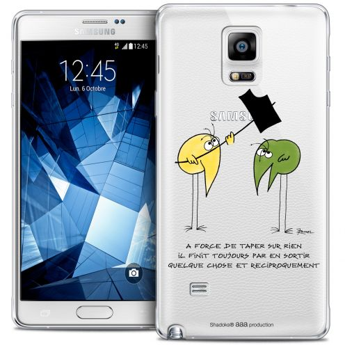 Extra Slim Crystal Galaxy Note 4 Case Les Shadoks® A Force