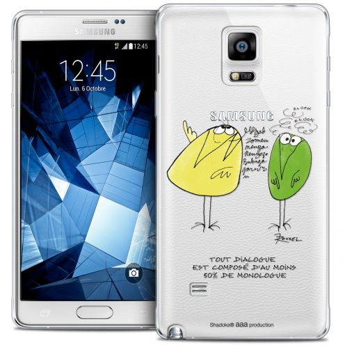Extra Slim Crystal Galaxy Note 4 Case Les Shadoks® Le Dialogue