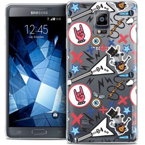 Crystal Galaxy Note 4 Case Lapins Crétins™ Rock Pattern