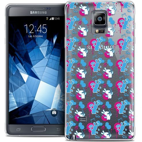 Crystal Galaxy Note 4 Case Lapins Crétins™ Rugby Pattern