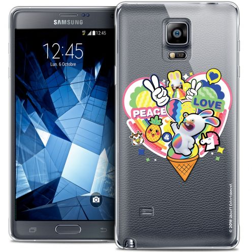 Crystal Galaxy Note 4 Case Lapins Crétins™ Peace And Love