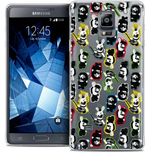 Crystal Galaxy Note 4 Case Lapins Crétins™ Punk Pattern