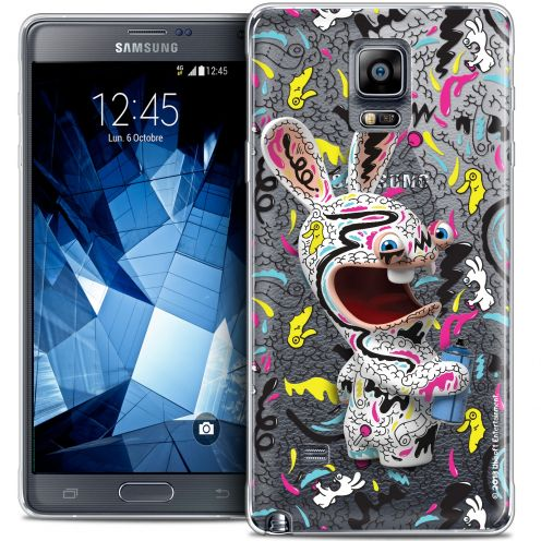 Crystal Galaxy Note 4 Case Lapins Crétins™ Tag
