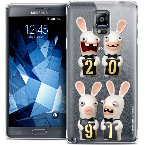 Crystal Galaxy Note 4 Case Lapins Crétins™ New Year