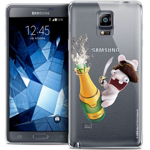Crystal Galaxy Note 4 Case Lapins Crétins™ Champagne !