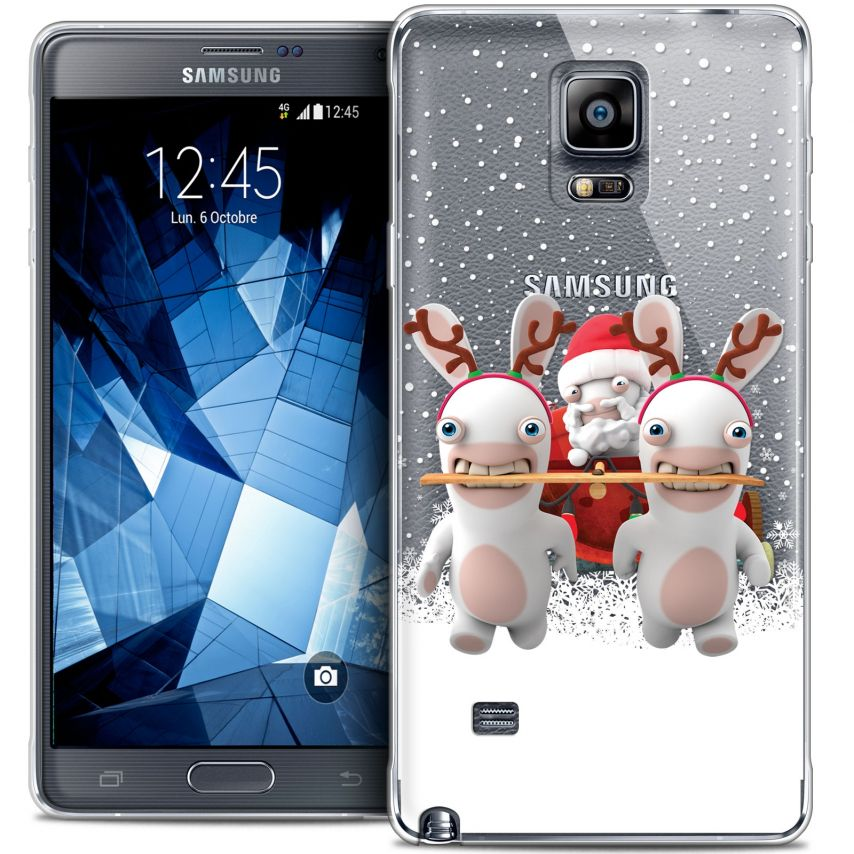 Crystal Galaxy Note 4 Case Lapins Crétins™ Lapin Traineau