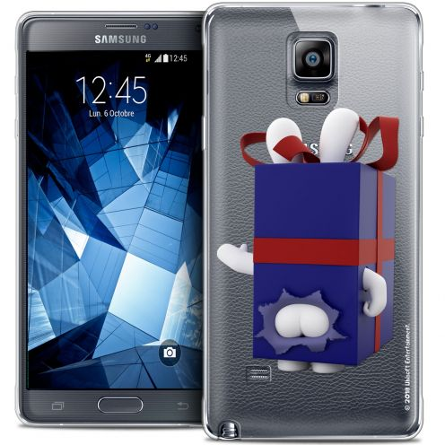 Crystal Galaxy Note 4 Case Lapins Crétins™ Lapin Surprise Bleu