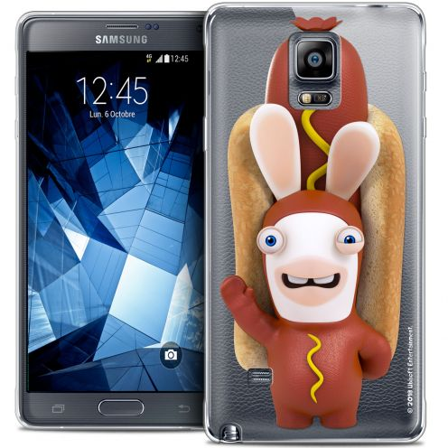 Crystal Galaxy Note 4 Case Lapins Crétins™ Hot Dog Crétin