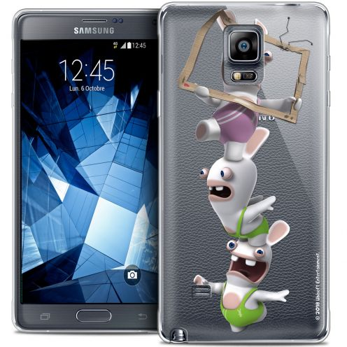 Crystal Galaxy Note 4 Case Lapins Crétins™ TV Sport