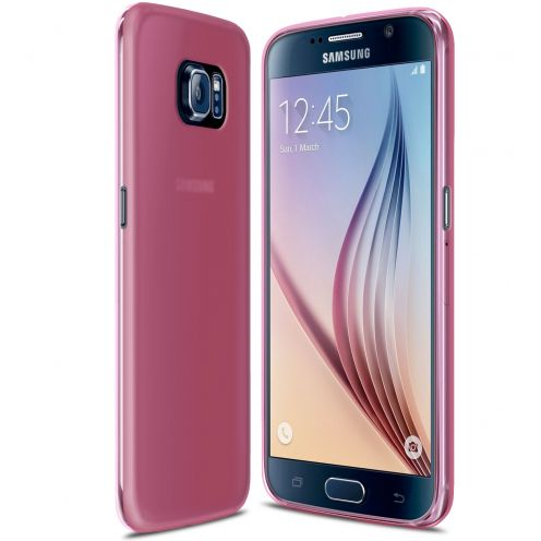 Frozen Ice Extra Slim Pink soft case for Samsung Galaxy S6