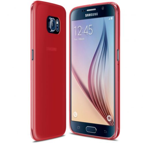 Frozen Ice Extra Slim Red soft case for Samsung Galaxy S6
