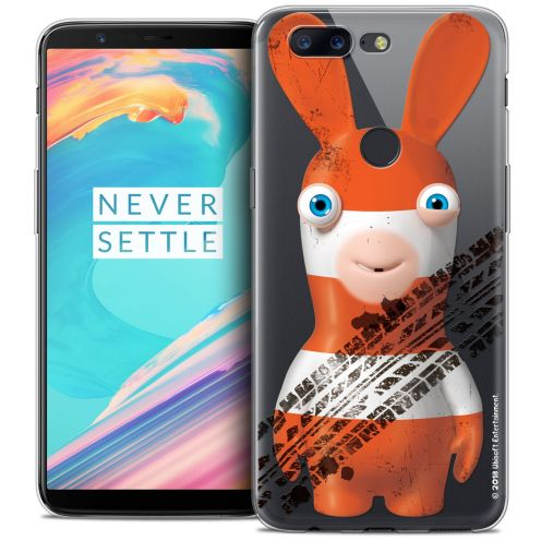 """Crystal Gel OnePlus 5T (6"""") Case Lapins Crétins™ On the Road"""
