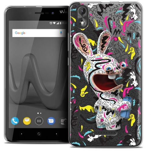 "Crystal Gel Wiko Lenny 4 PLUS (5.5"") Case Lapins Crétins™ Tag"