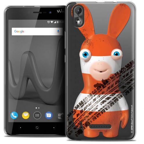 "Crystal Gel Wiko Lenny 4 PLUS (5.5"") Case Lapins Crétins™ On the Road"