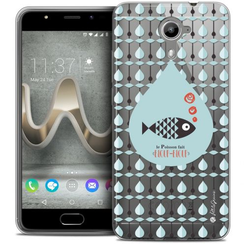 Extra Slim Crystal Gel Wiko U Feel PRIME Case Petits Grains® Le Poisson