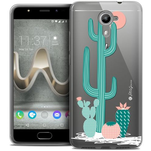 Extra Slim Crystal Gel Wiko U Feel PRIME Case Petits Grains® A l'Ombre des Cactus