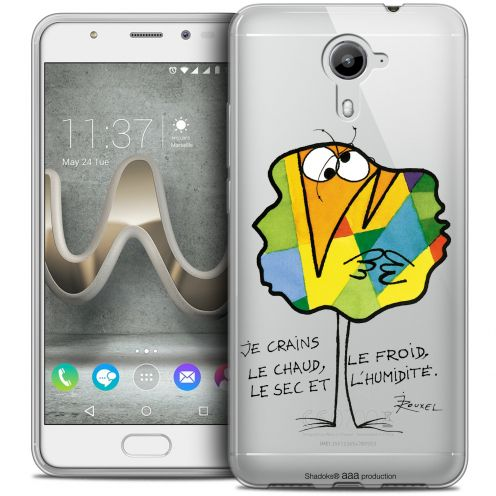 Extra Slim Crystal Gel Wiko U Feel PRIME Case Les Shadoks® Chaud ou Froid