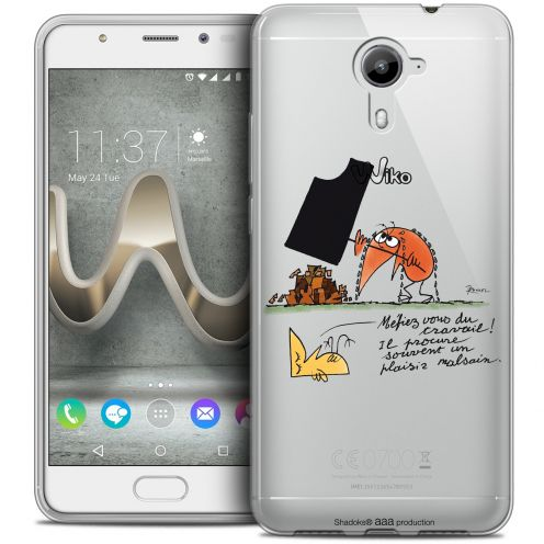 Extra Slim Crystal Gel Wiko U Feel PRIME Case Les Shadoks® Le Travail