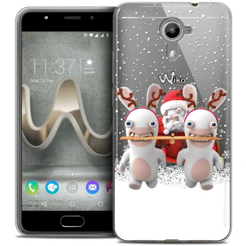 Crystal Gel Wiko U Feel PRIME Case Lapins Crétins™ Lapin Traineau